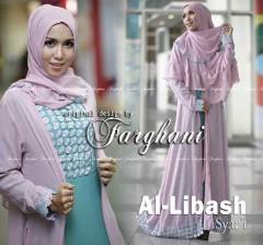 Grosir Busana Muslim Syar'i Terbaru Al Libash by Farghani Pink
