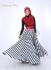 Monocrom Dress