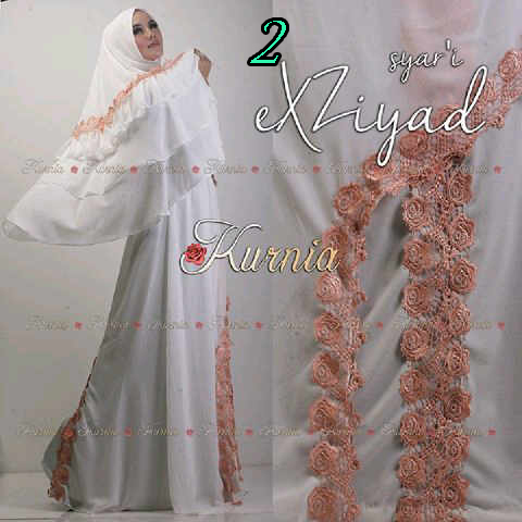 Pusat Grosiar Busana Muslim Syar'i Xziyad by Kurnia 2