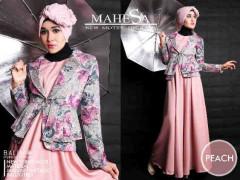 Pusat Grosir Baju Muslim Balimo Mahesa Peach