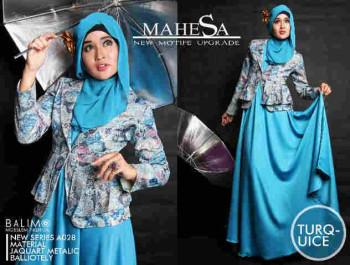 Pusat Grosir Baju Muslim Balimo Mahesa Turquice