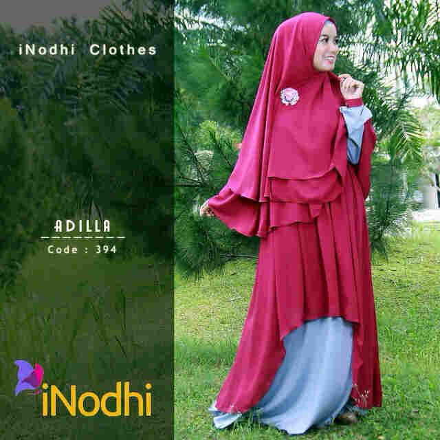 Pusat Grosir Busana Muslim Adilla by Inodhi 394