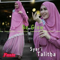 Pusat Grosir Busana Muslim Syar'i Talitha by Be Glow Fanta copy
