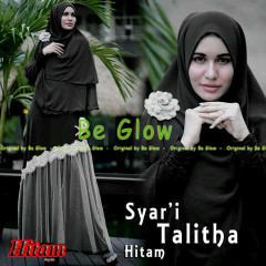 Pusat Grosir Busana Muslim Syar'i Talitha by Be Glow Hitam copy