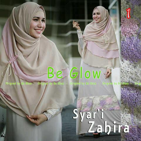 Zahira By Be Glow 1 Baju Muslim Gamis Modern