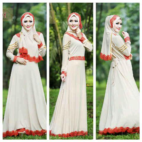 Shazia By Fitria Style Milo Baju Muslim Gamis Modern
