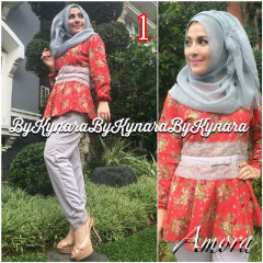 Trend Terbaru Busana Muslim Amora by Kynarra  1