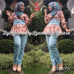 Trend Terbaru Busana Muslim Amora by Kynarra  2