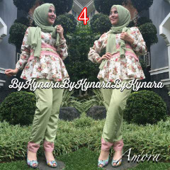 Trend Terbaru Busana Muslim Amora by Kynarra  4