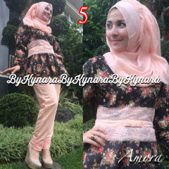 Trend Terbaru Busana Muslim Amora by Kynarra  5