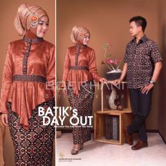 Baju Muslim Kopel Terbaru 2015 Syakila & Syam by Boerhani  Brown