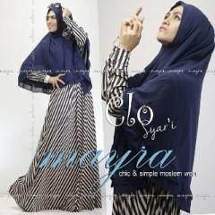 Baju Muslim Wanita Modern Clo Syar'i by Mayra Dongker