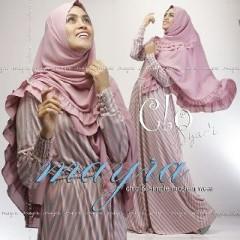 Baju Muslim Wanita Modern Clo Syar'i by Mayra Pink