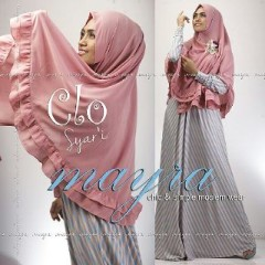 Baju Muslim Wanita Modern Clo Syar'i by Mayra Salem