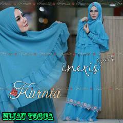 Baju Muslim Wanita Terbaru inexis vol2 Hijau Tosca