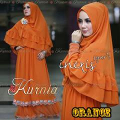 Baju Muslim Wanita Terbaru inexis vol2 Orange
