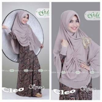 Baju Muslimah Terbaru Cleo Syar'i by GDA Coksu
