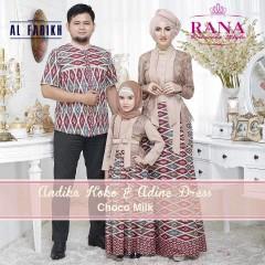 Busa Muslim Sarimbit Terbaru Edisi Lebaran Andika & Adine by Airia Choco Milk