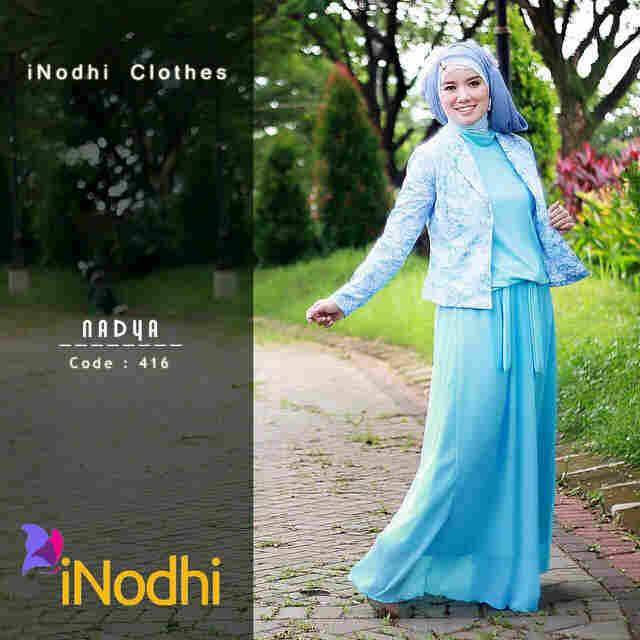 Busana Muslim Syar'i Nadya by Inodhi 416