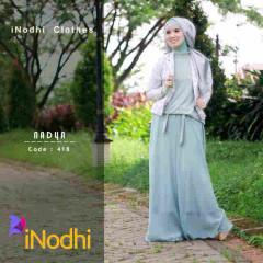 Busana Muslim Syar'i Nadya by Inodhi 418