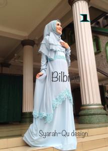 Busana Muslim Syar'i Terbaru Bilbina by Syarahqu Design 1
