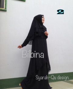 Busana Muslim Syar'i Terbaru Bilbina by Syarahqu Design 2