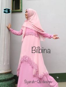 Busana Muslim Syar'i Terbaru Bilbina by Syarahqu Design 3