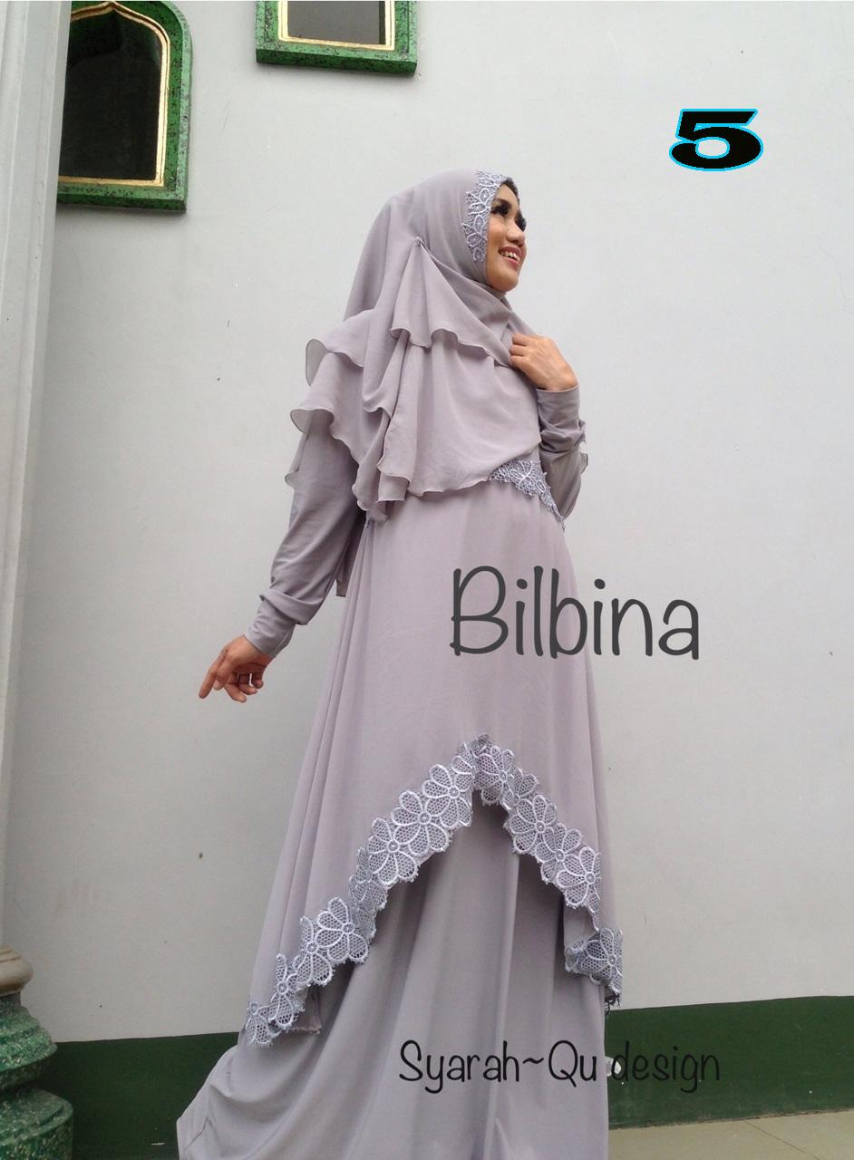 Busana Muslim Syar'i Terbaru Bilbina by Syarahqu Design 5
