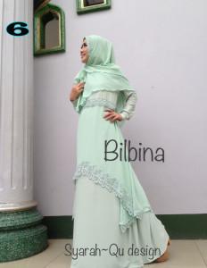 Busana Muslim Syar'i Terbaru Bilbina by Syarahqu Design 6