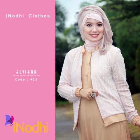 Busana Muslim Terbaru 2015 Elviera by Inodhi 423