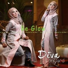 Busana Muslim Terbaru Diva by Be Glow Abu - Pink