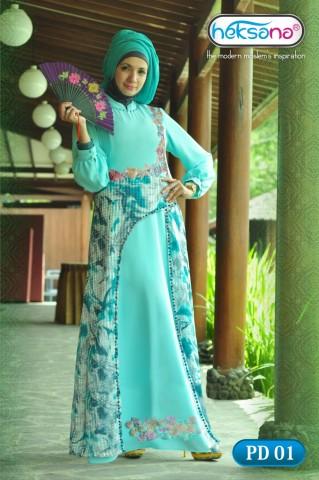 Busana Muslim Trend Terbaru PD 01 by Heksana