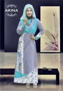 Grosir Busana Muslim Modern Akina Tosca by Heksana