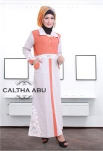 Grosir Busana Muslim Modern Caltha Abu by Heksana