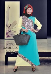 Grosir Busana Muslim Modern Camelia by Heksana