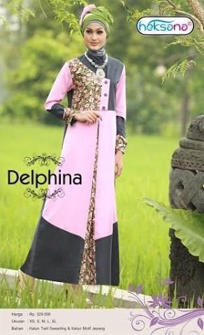 Grosir Busana Muslim Modern Delphina by Heksana