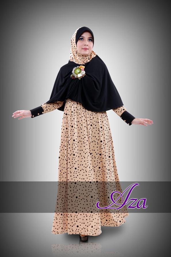 Grosir Busana Muslim Syar'i RaneeA by Aza Cream