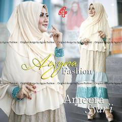 Grosir Busana Muslim Terbaru Ameera Syar'i by Agyna 4