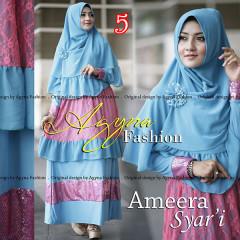 Grosir Busana Muslim Terbaru Ameera Syar'i by Agyna 5