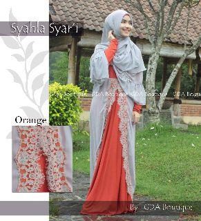 Koleksi Baju Muslim Terbaru Syahla by GDA Orange