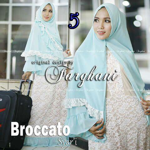 Koleksi Busana Muslim Syar'i Broccato Syar'i by Farghani 5