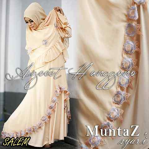 Koleksi Busana Muslim Syar'i Wanita Indonesia Muntaz by Agoes Hanggono Salem