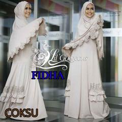 Model Busana Muslim Modern Wanita Syar'i Fidha by Lil Gorgeouse Coksu