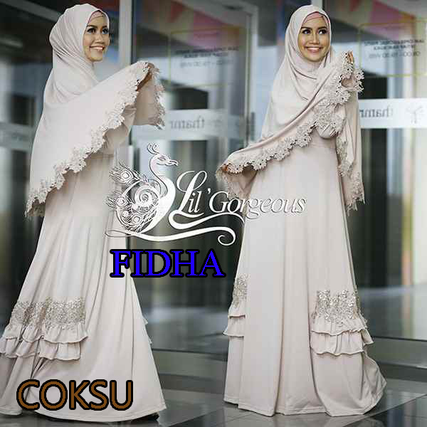 Fidha Coksu - Baju Muslim GAMIS Modern