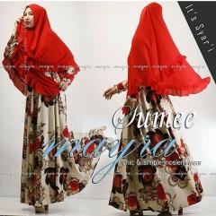 Pusat Baju Muslim Syar'i Terbaru 2015 Sumee by Mayra Merah