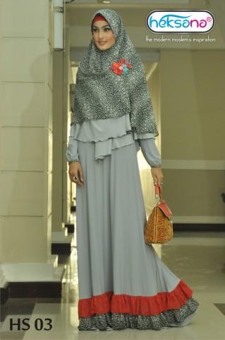 Pusat Grosir Busana Muslim HS 03 by Heksana