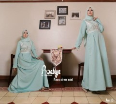 Pusat Grosir Busana Muslim Naura Dress by Rabiya Mint
