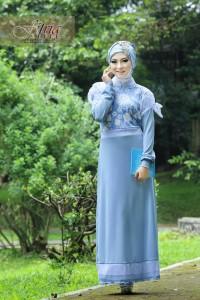 Pusat Grosir Busana Muslim Syazia by Fitria Style Baby Blue