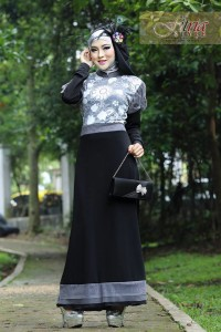Pusat Grosir Busana Muslim Syazia by Fitria Style Black