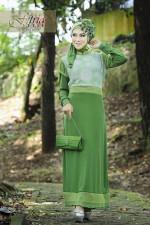 Pusat Grosir Busana Muslim Syazia by Fitria Style Green